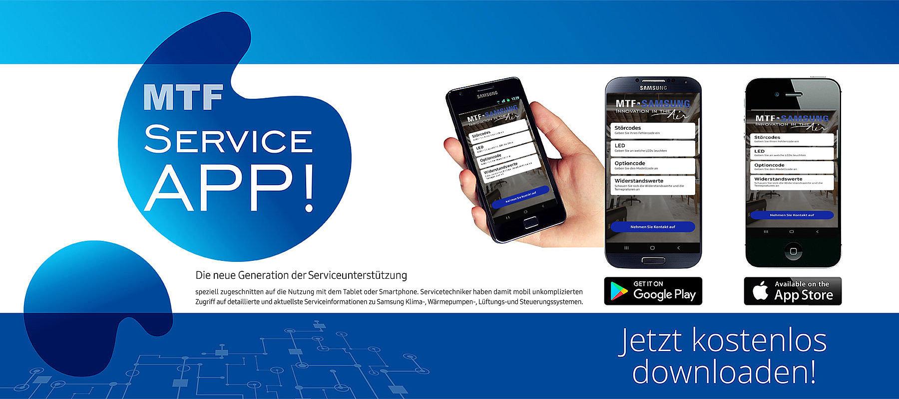 Banner MTF Service App